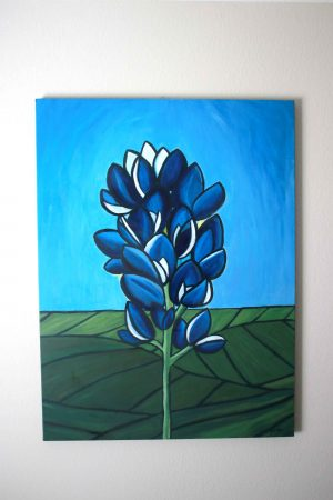 Texas Bluebonnet Painting