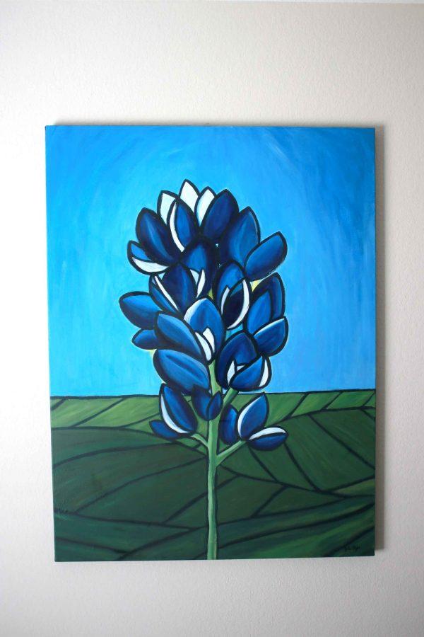Texas Bluebonnet Painting
