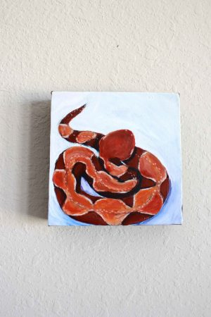 Copperhead Snake painting