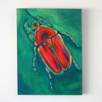 Jewel Beetle Painting